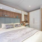 Willerby Granada master bedroom